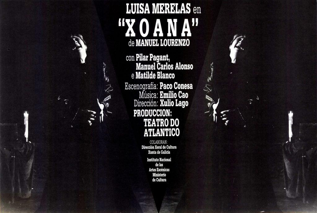 Xoana (Sobre foto de Luísa Merelas)