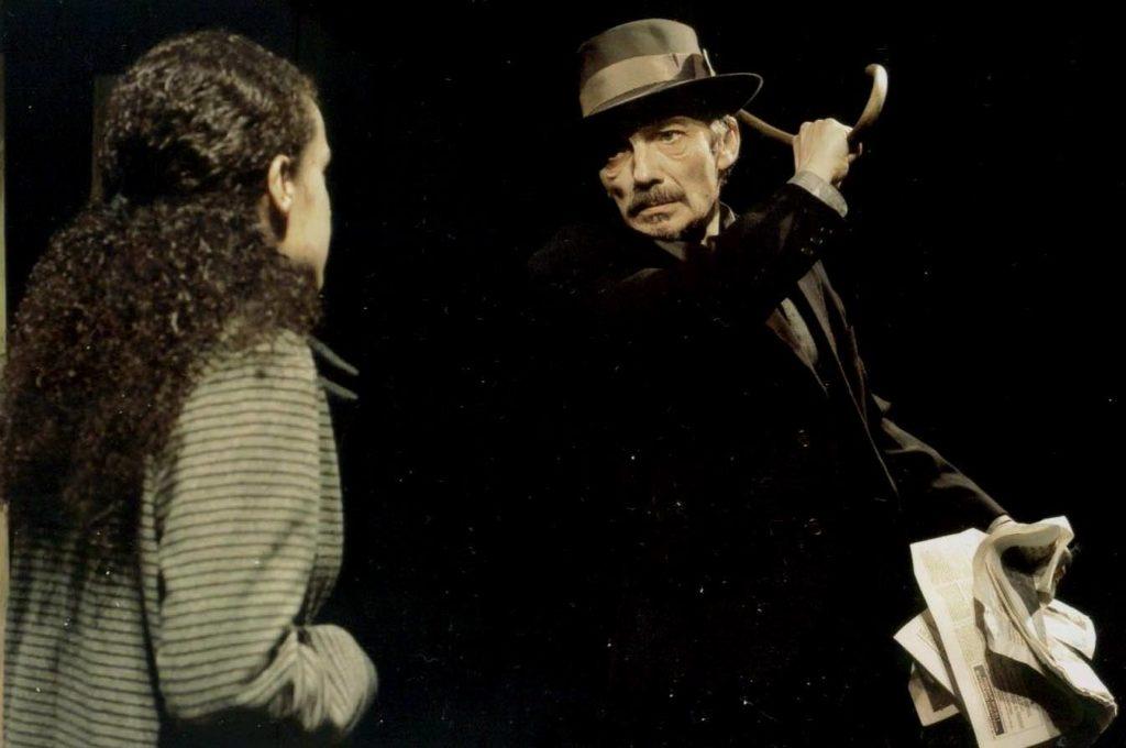 Vanzetti. . Luigina e Pai, con bastón