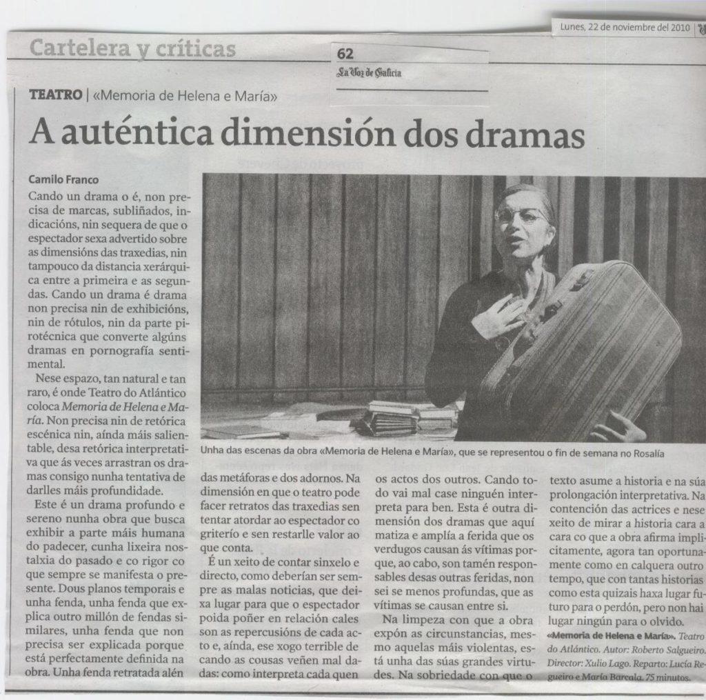 Memoria de Helena Camilo Franco 1