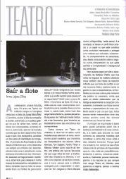 Crítica de Inma López Silva, na revista Tempos Novos, número de Abril 2015